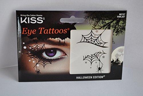 Kiss Halloween Edition Eye Tattoo - 66707 Bat -