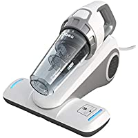 Dibea Bed Vacuum Cleaner with Roller Brush Corded Handheld (White)