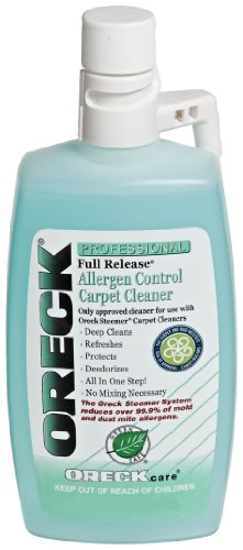 oreck steam cleaner solution - 1