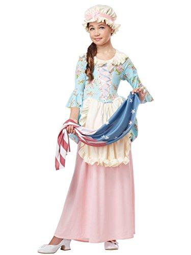 Patriotic Colonial Girl