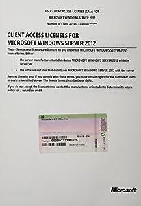 Microsoft Windows Srvr 2012 5 Usr Cal