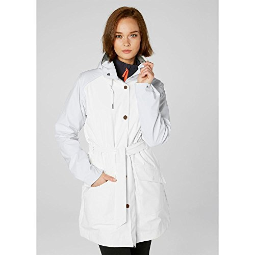 white Kirkwall Rain Hansen Abrigo Mujer Helly U0zvwXqn