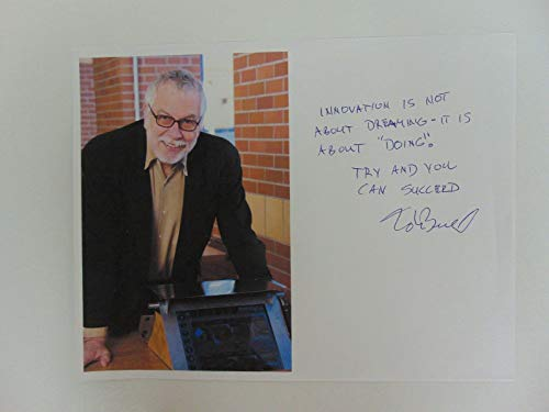 """Atari Creator"" Nolan Bushnell Hand Signed Photo on Paper Todd Mueller COA from Unknown"