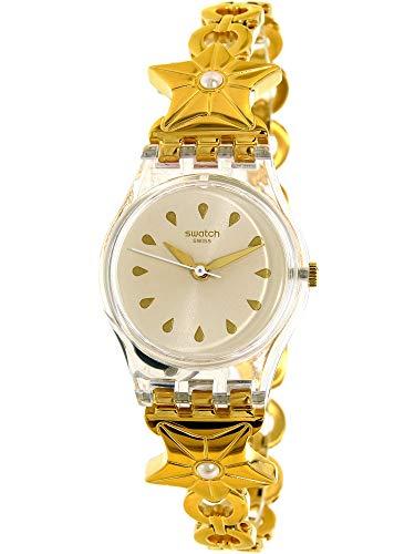 Swatch Etoile De Mer Ladies Stainless Steel Band Watch Lk366G