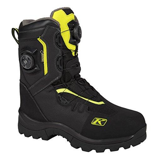 Klim Adrenaline GTX Boa Men's Snowmobile Boots - Size 10/Hi-Vis