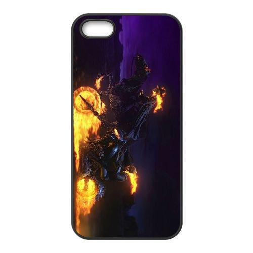 Ghost Rider 2 coque iPhone 4 4S cellulaire cas coque de téléphone cas téléphone cellulaire noir couvercle EEEXLKNBC25244