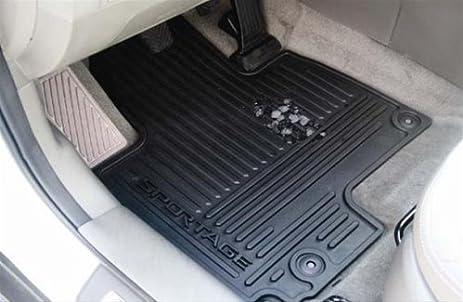 kia sportage all weather rubber floor mats