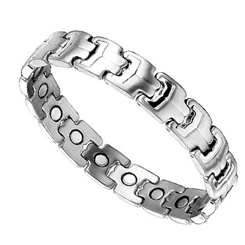 Men's Stylish Titanium Magnetic Power Golf Bracelet T7