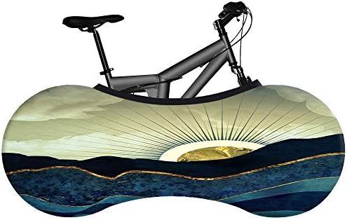 Joyfitness Cubierta De Bicicleta - Cubierta De Bicicleta De Montaña Cubierta Rueda De Cubierta De Almacenamiento De Bicicleta - Sin Polvo Y Decorativa - Noche De ...
