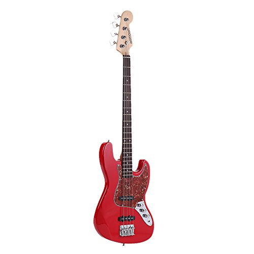 ammoon 4 String JB Electric Bass Guitar Solid Wood, used for sale  Delivered anywhere in Canada