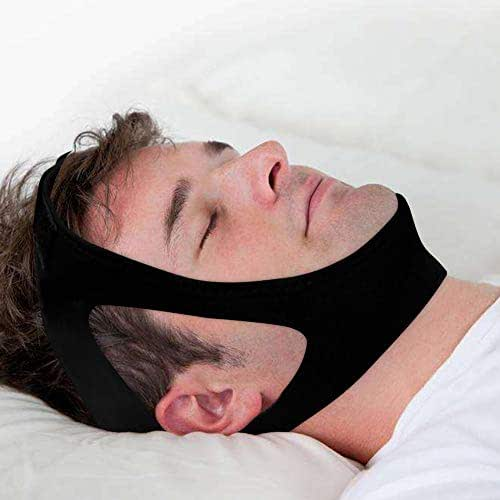 Adjustable Anti Snoring Chin Strap - IMANYA Chin Straps and Sleep Aid Solution - Upgraded Anti Snore Stopper for Men and Women