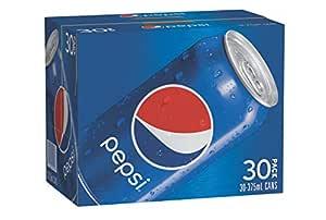 Pepsi Regular Soft Drink, 30 x 375ml