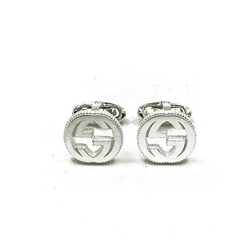 Gucci Interlocking Cufflinks Silver - Gucci Cufflinks