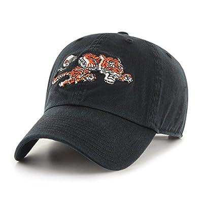 OTS NFL Cincinnati Bengals Men's Challenger Adjustable Hat, Black Legacy, One Size