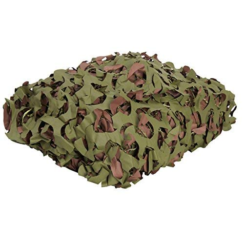 Camonetz Military Camo Netting, Woodland 20ft x 10ft, Jungle Military Net From 200 sq ft ()