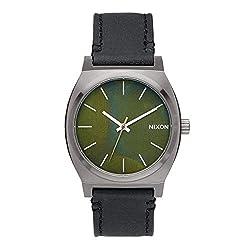 Nixon Men's A0452070 Time Teller Analog Display Japanese Quartz Black Watch
