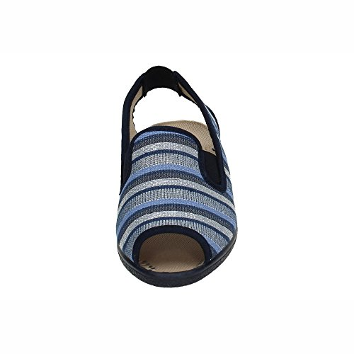 Marine Femme 2026 Sandales Made Spain In Bleu azggYZF