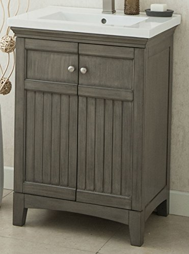 """cheap Legion Furniture WLF7022 24"""" Royal Walnut Sink Vanity without Faucet"""