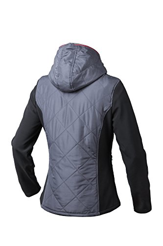 Pau1Hami1ton PJ-03 Women's Workwear Lightweight Outdoor Thermal Full-Zip Hooded Jacket with Drawstring (XL,Grey) by Pau1Hami1ton (Image #2)