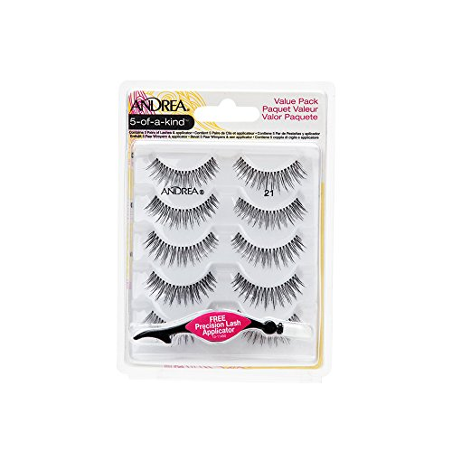 Andrea Fake Eyelashes Multi pack #21 with Applicator, 1 pack