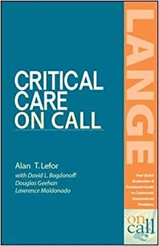 Critical Care On Call (LANGE On Call)
