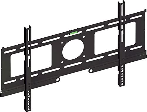 Pyle Home PSW701F Fixed Wall Mount for 23 to 50 Inches Displays with Built-In Level Black