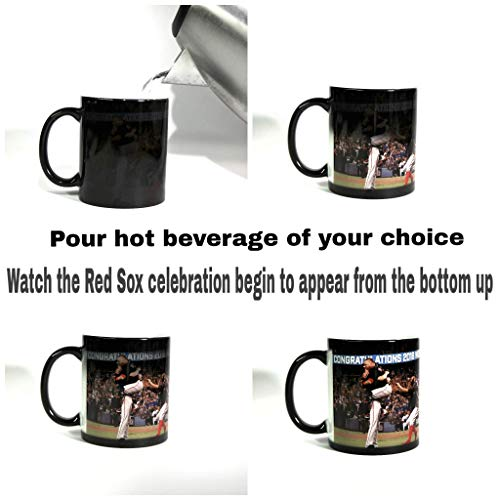 2018 World Series Champion BOSTON RED SOX Color Changing 11oz. Coffee Mug