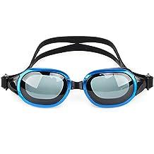 Whale Prescription Swim Goggles,Optical Myopia Swimming Goggles Leakproof Design Anti-Fog UV Protection for Outdoor Swimming(Prescription:2.0-7.0 Diopters)
