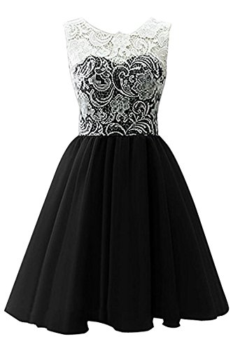 Black Party Color Big Princess Dress Girls Lace Dress Pageant Candy Gown YMING 6CwqFfxPf