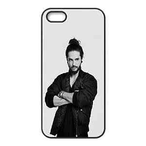 iPhone 5 5S Phone Case Black Hd Tokio Hotel German Pop Rock Band Music Celebrity DC6Y5CGJ Custom Phone Case
