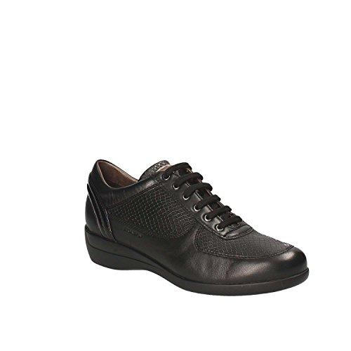 misu - Zapatillas de danza para mujer Negro negro, color Negro, talla 39 1/3