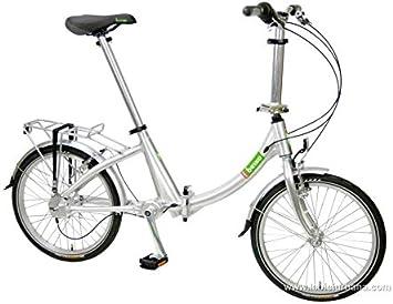 Beixo bicicleta plegable con cardan - Compact Low Silver: Amazon.es: Deportes y aire libre