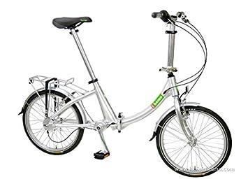 Beixo bicicleta plegable con cardan - Compact Low Silver