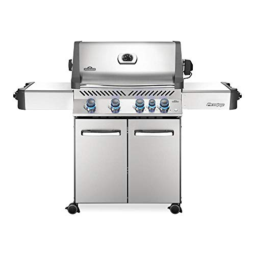 - Napoleon P500RBNSS-3 Steel Prestige 500 Natural Gas Grill with Infrared Rear Burner, Stainless S