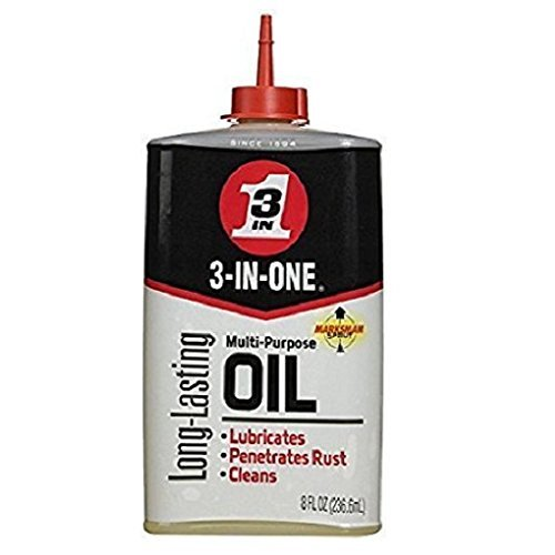 3-IN-ONE 10038 Multi-Purpose Oil 8 oz (Pack of 2)