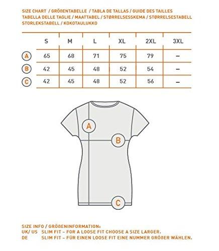 GOZOO Halo Camiseta Mujer Kelly-087 100% Algodón Blanco