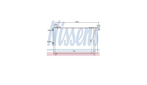 NISSENS Air Conditioning Condenser 940143