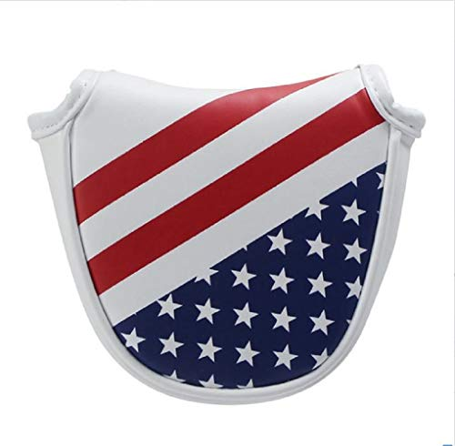 (Golf USA America Mallet Putter Cover Headcover for Scotty Cameron Odyssey (As Shown, OneSize) )