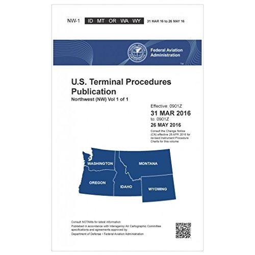 FAA IFR Terminal Procedures Bound Northwest (NW) Vol 1 of 1 (Always Current Edition) ()