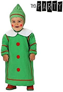 Atosa-12784 Atosa-12784-Disfraz De Árbol niño bebé-Talla Navidad ...