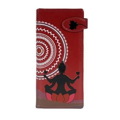 Shagwear Large Red Meditation Wallet