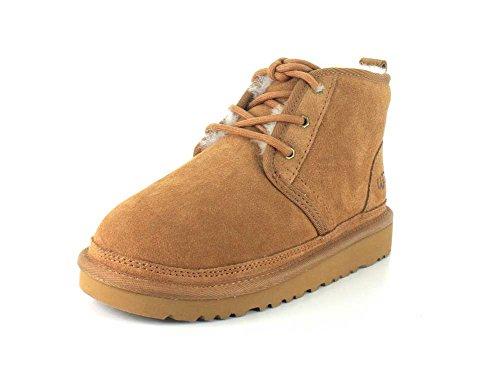 UGG Boys K Neumel Pull-on Boot, Chestnut, 13 M US Little Kid