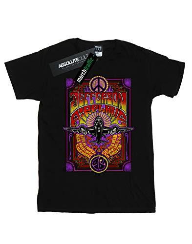 Femme Noir T In Airplane Petit Cult Absolute Ami Concert shirt Fit Jefferson Live qUpvv7tn
