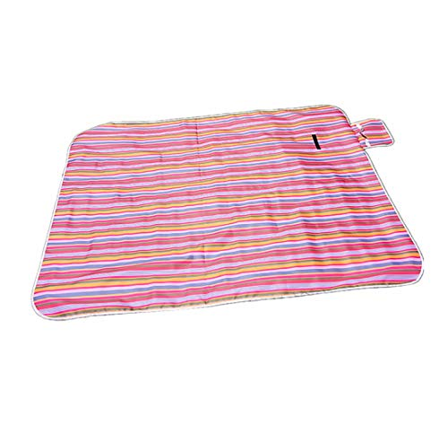 ZDTXKJ Outdoor Picnic Blanket Water-Resistant Camping Beach Blanket Sand Control,Red 1,150100cm