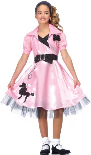 Hop Diva Costume (Medium) (Satin Poodle Dress Adult Costumes)