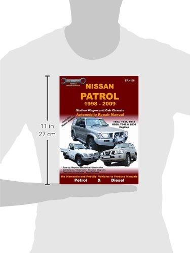 nissan patrol 1998 to 2009 vehicle repair manual max ellery rh amazon com Patrol Y60 Glow HP Officejet Printer Manuals