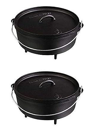 Amazon.com: Camp Chef SDO10 - Horno holandés de hierro ...