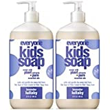 Amazon Price History for:Everyone 3-in-1 Soap for Every Kid Safe, Gentle and Natural Shampoo, Body Wash, and Bubble Bath, Lavender Lullaby, 2 Count