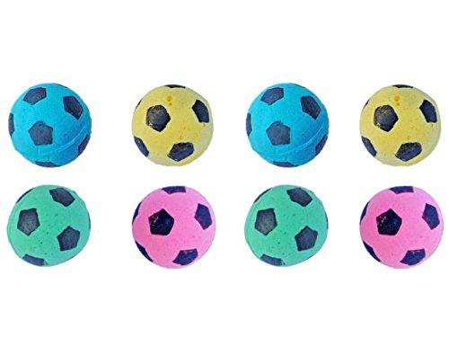 Cat Toys Balls : Petfavorites foam soccer balls cat toys pack of ebay