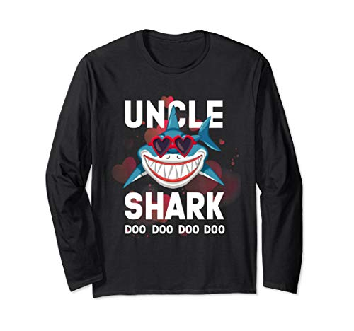 Unkle Shark T-shirt love glasses christmas is coming Shirt